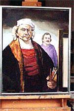 Beim Versuch Meister Rembrandt über die Schulter zu sehen